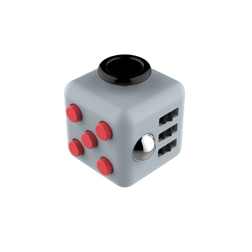 Stress Relief Toys For Adults : Fun magic fidget cube anti anxiety adults stress relief