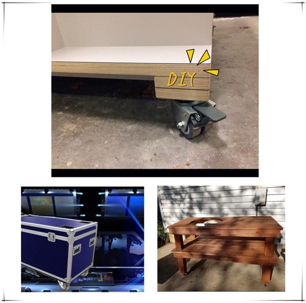 m belrollen lenkrollen transportrollen bockrolle mit. Black Bedroom Furniture Sets. Home Design Ideas