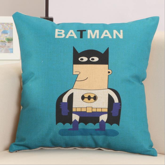 Sofa Pillows Contemporary: Modern Contemporary Cartoon Characters Cotton Linen Throw
