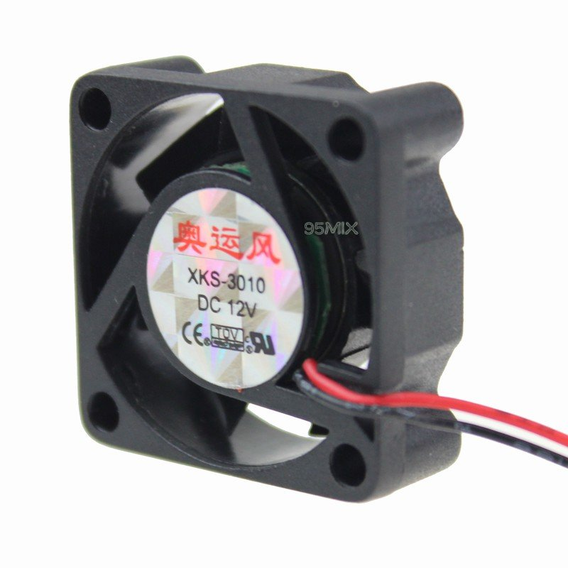 30mm 3cm 12v Pc Computer Cooler Cooling Fan Motor