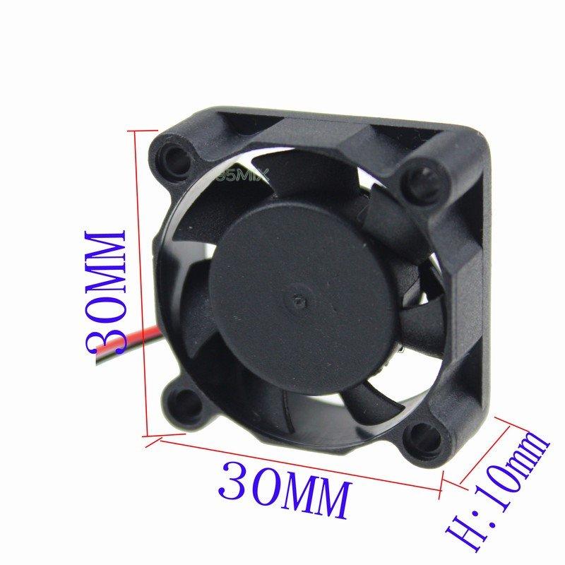 30mm 3cm 12v Pc Computer Cooler Cooling Fan Motor