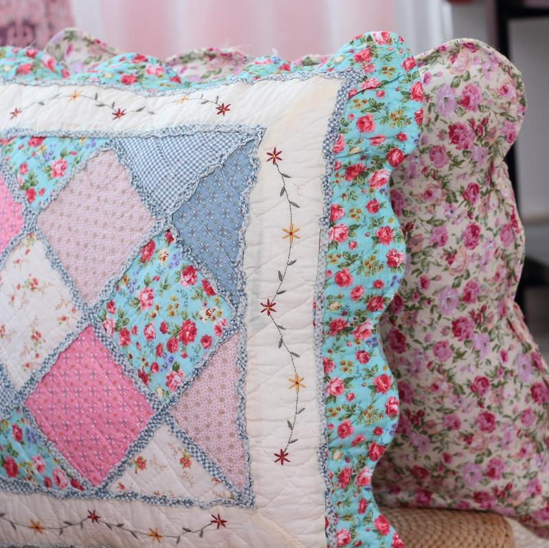 Shabby Chic Floral Throw Pillows : Shabby Chic French Country Cottage Floral Sofa Throw Pillow Cushion Cover A eBay
