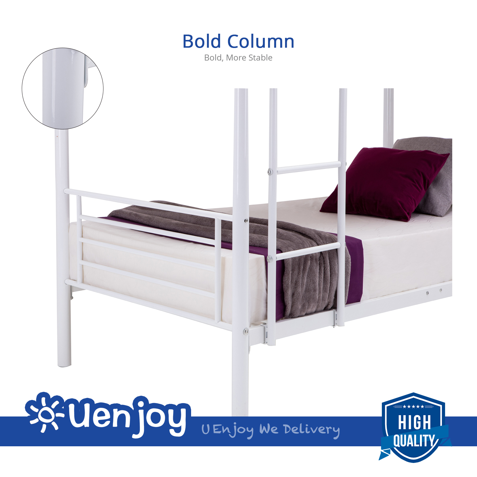 Princess loft bed kmart beds for adults oeuf perch bunk for Affordable quality bedroom furniture