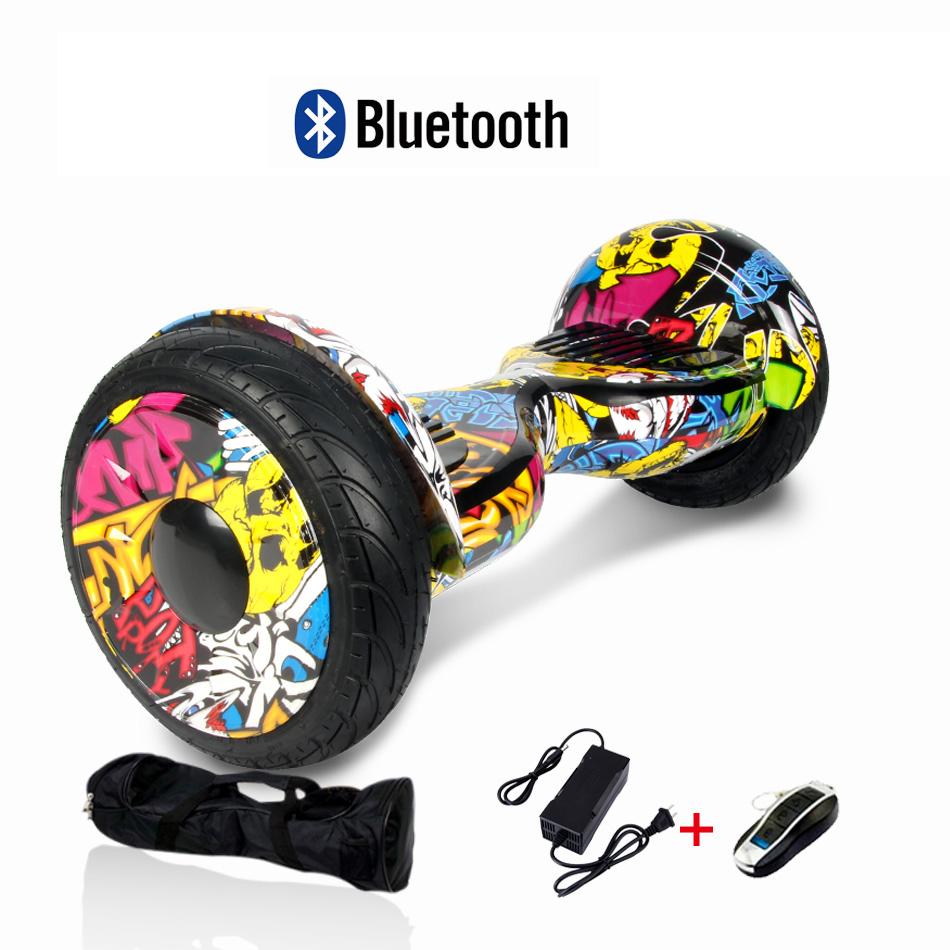 10 bluetooth elektro scooter skateboard hoverboard mit. Black Bedroom Furniture Sets. Home Design Ideas