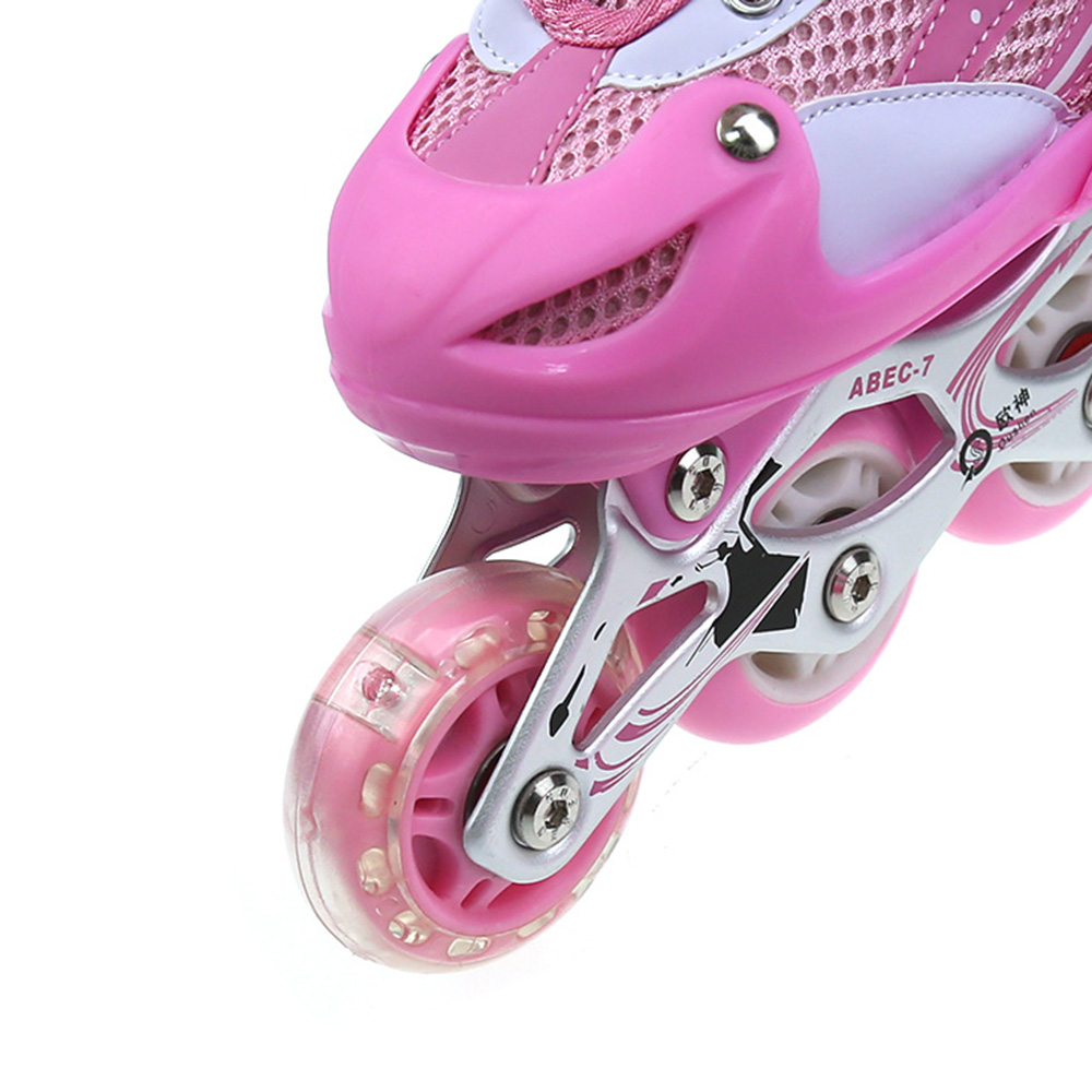 rollers en ligne patin roulette r glables 31 34 pour. Black Bedroom Furniture Sets. Home Design Ideas