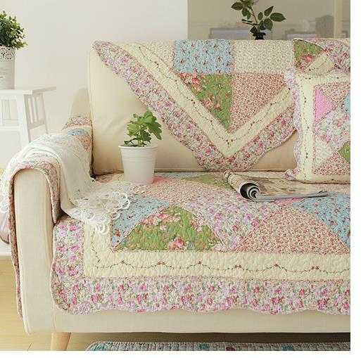 Shabby Chic Cottage Country Quilted Couch Sofa Loveseat Protector Cover Mat G Ebay