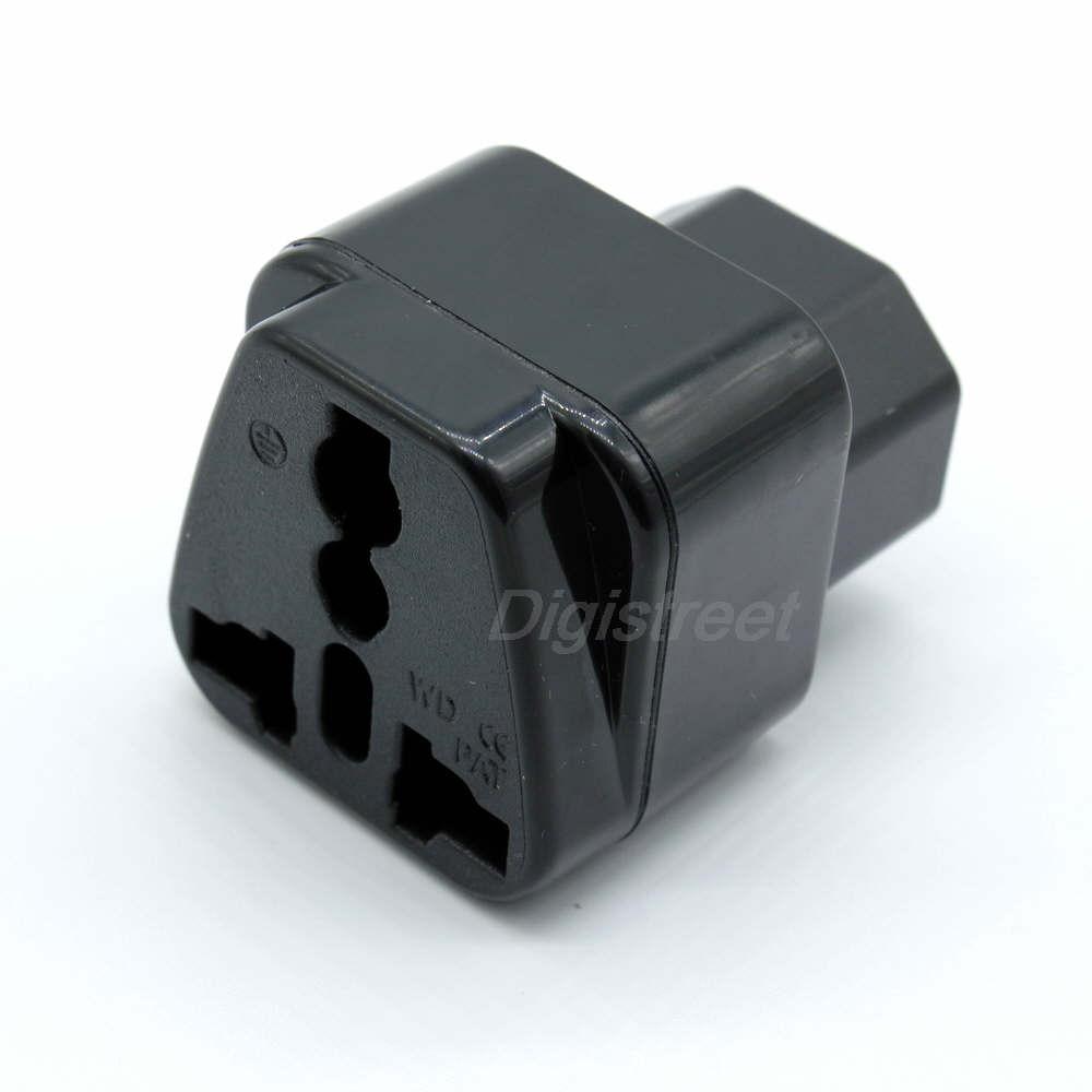 Power adapter ac mains plug iec c us uk eu cn male