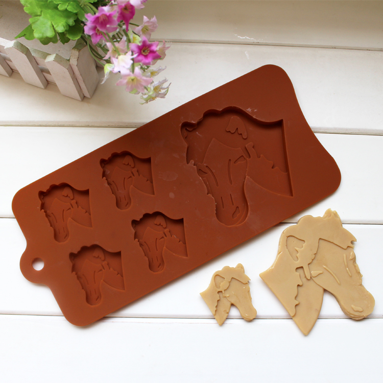 Cake Decorating Animal Molds : Animal Style Silicone Candy Cookies Cake Chocolate ...