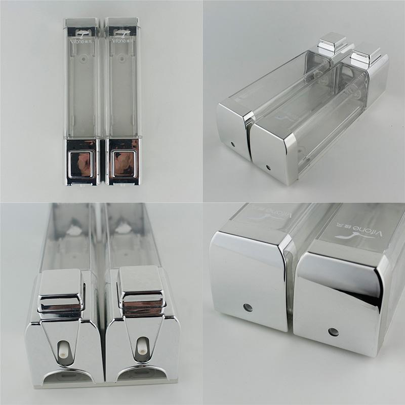 wall mounted kitchen liquid dispenser shampoo box soap