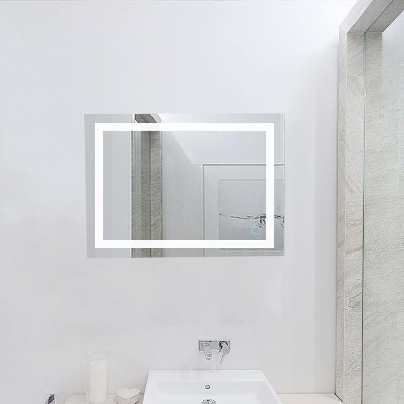 Badspiegel led badezimmerspiegel beleuchtet bad spiegel for Wandspiegel bad