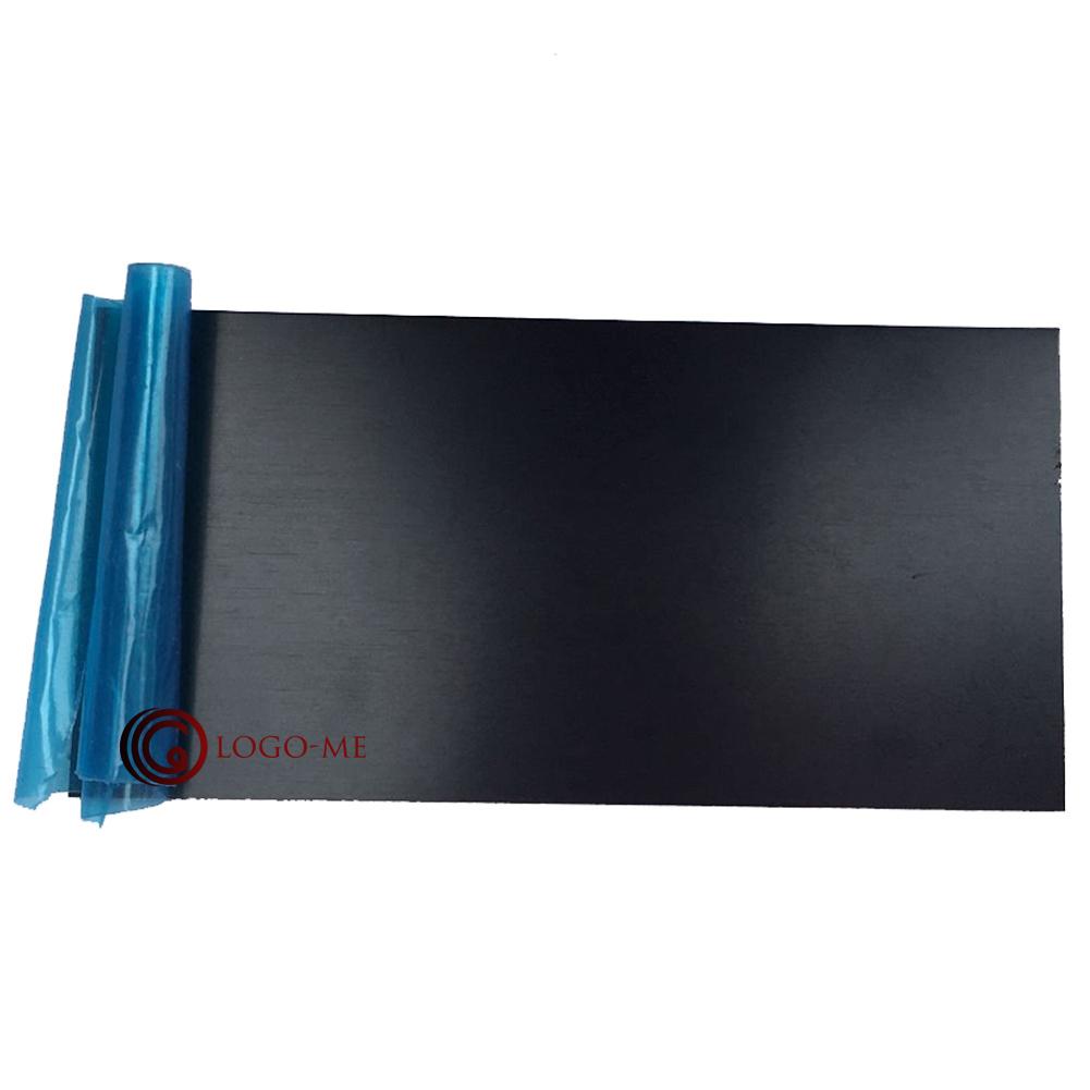 personalized anodized aluminium nameplate custom engraved. Black Bedroom Furniture Sets. Home Design Ideas