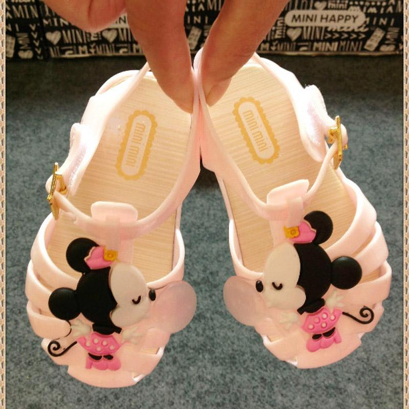 Cute Summer Cartoon Minnie Mouse Mickey Sandals Jelly