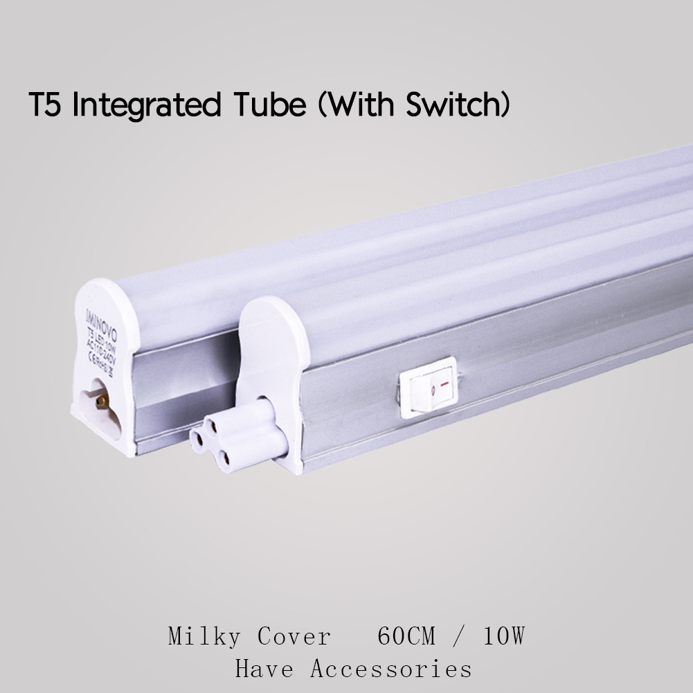 LED T5 Integrated Tube Light Bulb Replacement Fluorescent