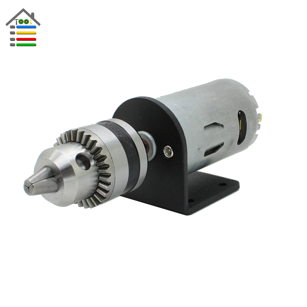 1pc Electric Hand Drill Set Dc24v Motor Drill Bit Chuck