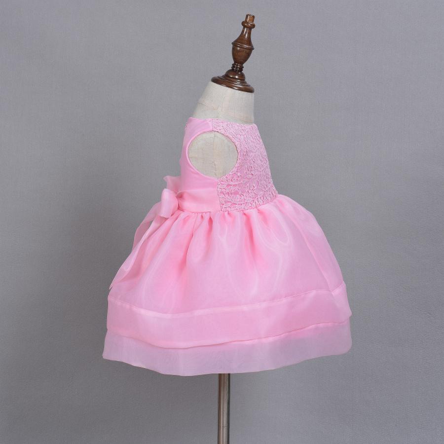 Baby Shower Dresses Uk ~ T girl flower leaf christening baptism dress kid baby
