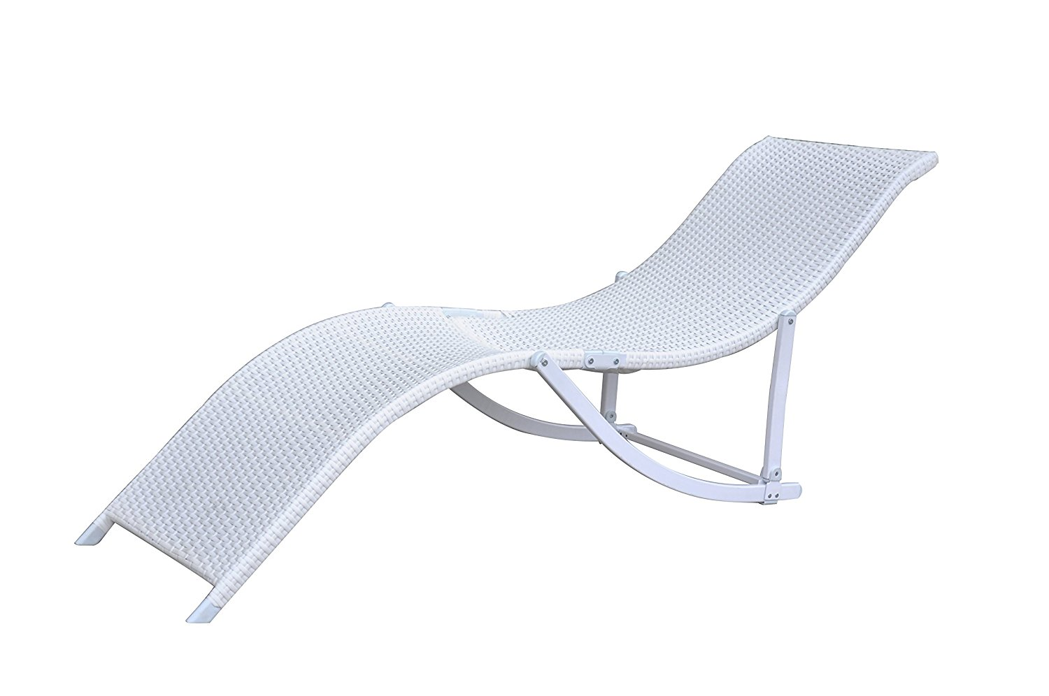 Rattan Wicker Outdoor Patio Chaise Lounge Chair Recliner 2 ...