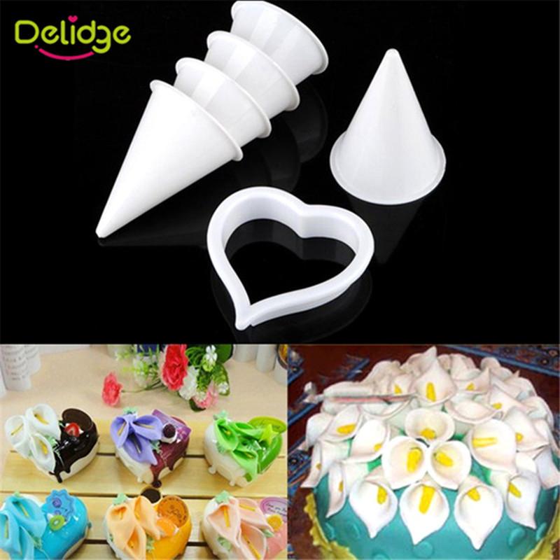 Cake Decorating Sugarcraft Moulds : Plastic Fondant Cake Decorating Mold Embosser Cutter Mould ...