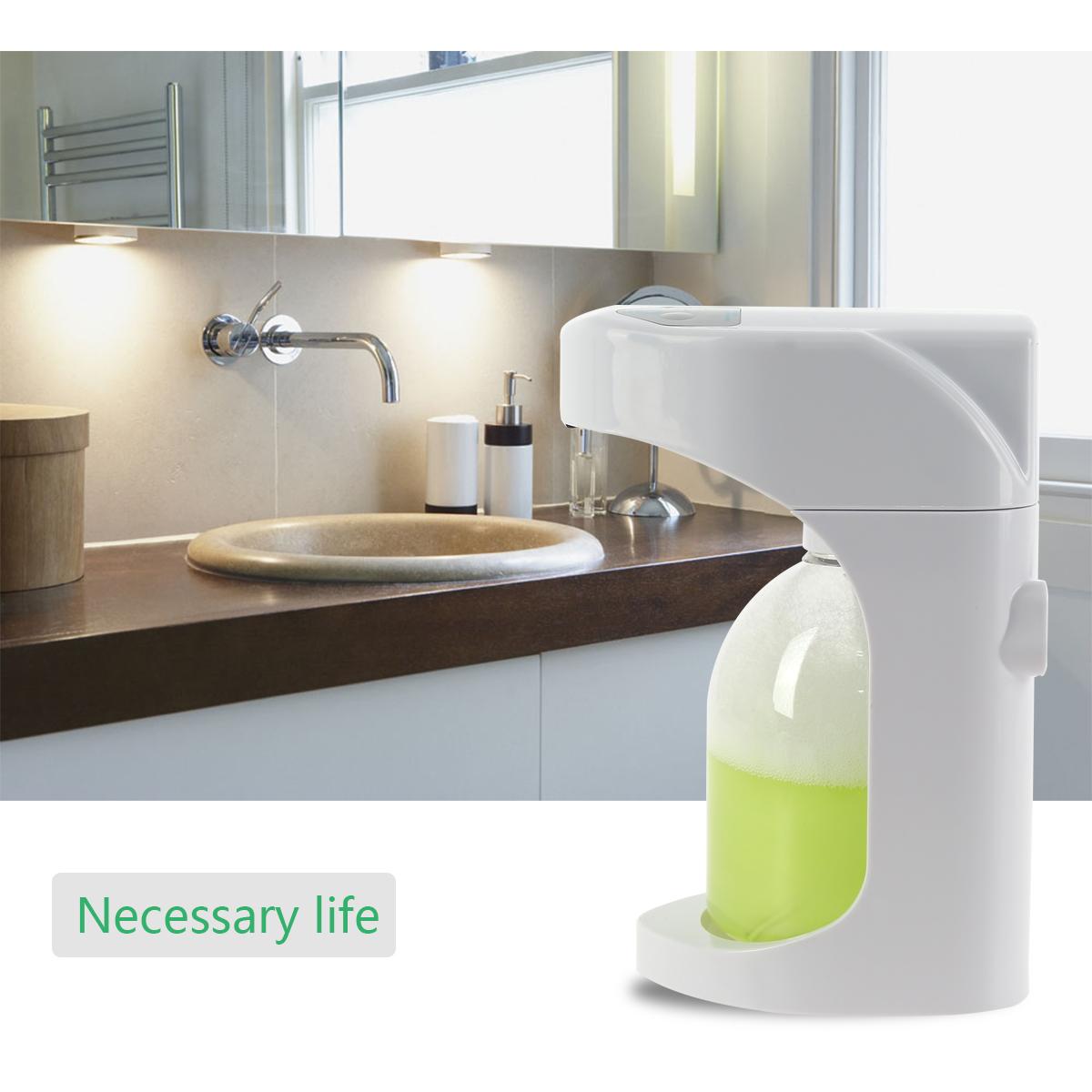 Adjustable Automatic Foam Soap Dispenser Hands Free Foam Bath Touchless Kitchen Ebay