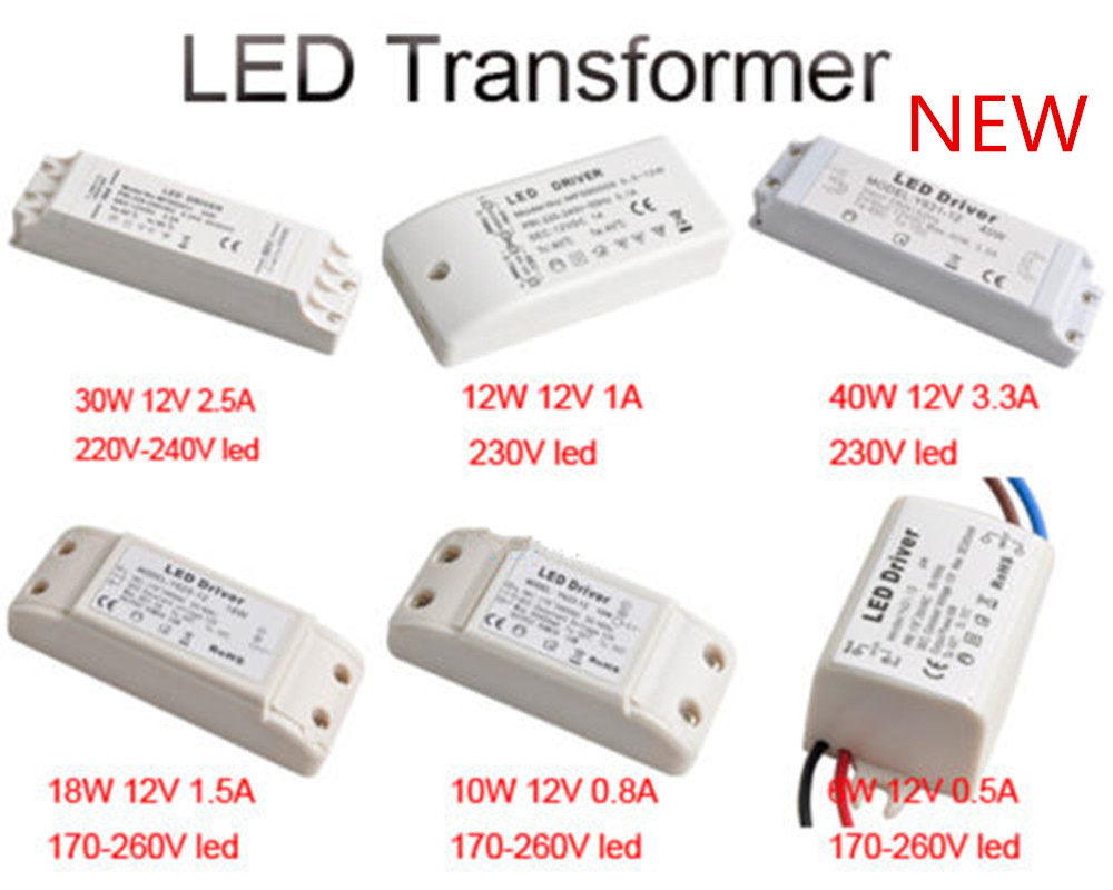 6w10w12w18w30w40w dc 12v led driver transformer for mr16mr11 using this led driver instead of the existing low voltage transformer it will double the life of the led strip lights and light bulbs mozeypictures Images