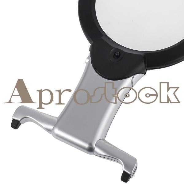 giant large magnifying glass w led light magnifier. Black Bedroom Furniture Sets. Home Design Ideas