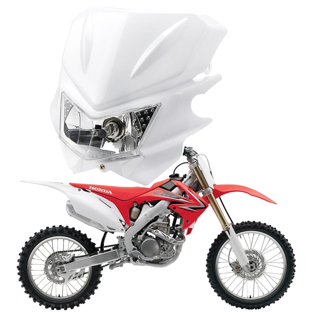 Universal motorcycle h4 head light dual sport for honda for Yamaha dual sport bike