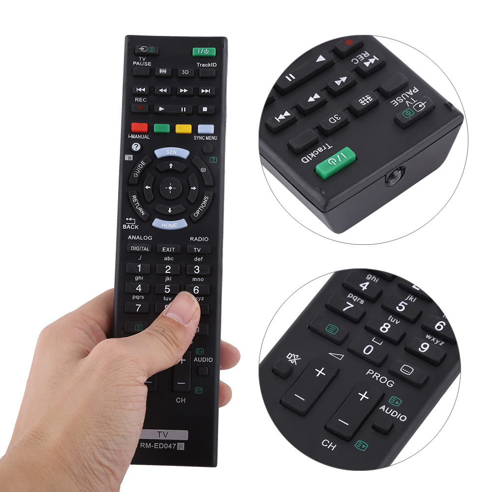 Tv Remote Control Controller Rm Ed047 For Sony Bravia Tv