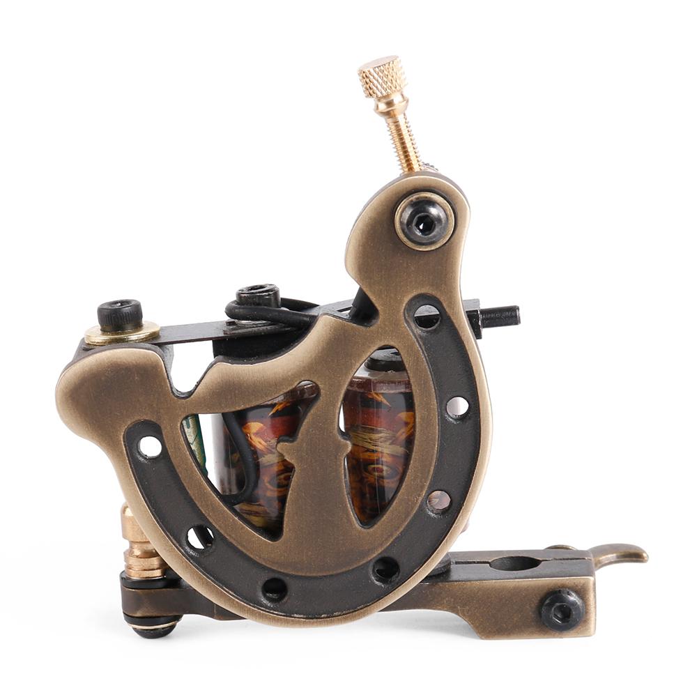 Tattoo Coil Machine Gun Handmade 12 Wraps Pure Copper Coil