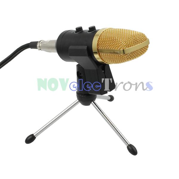 Condenser Microphone Computer USB Studio Cardioid PC ...