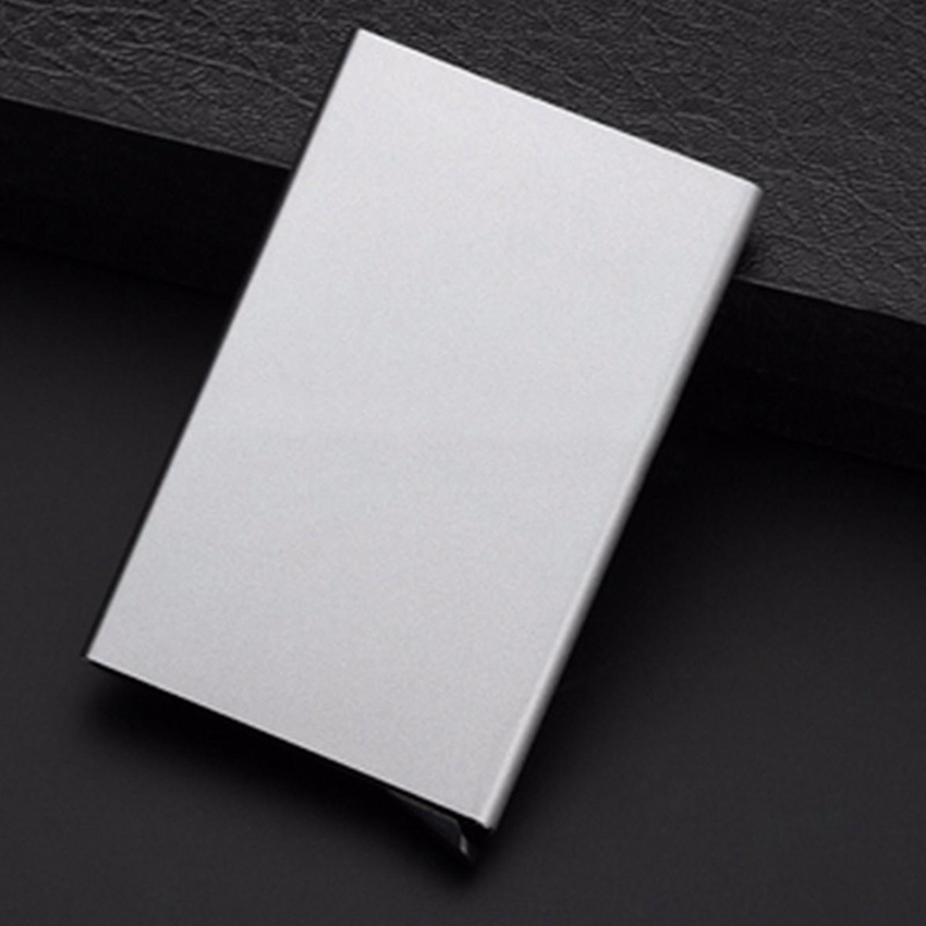 Aluminum Slim Wallet Business ID Credit Card Holder Protector Purse ...