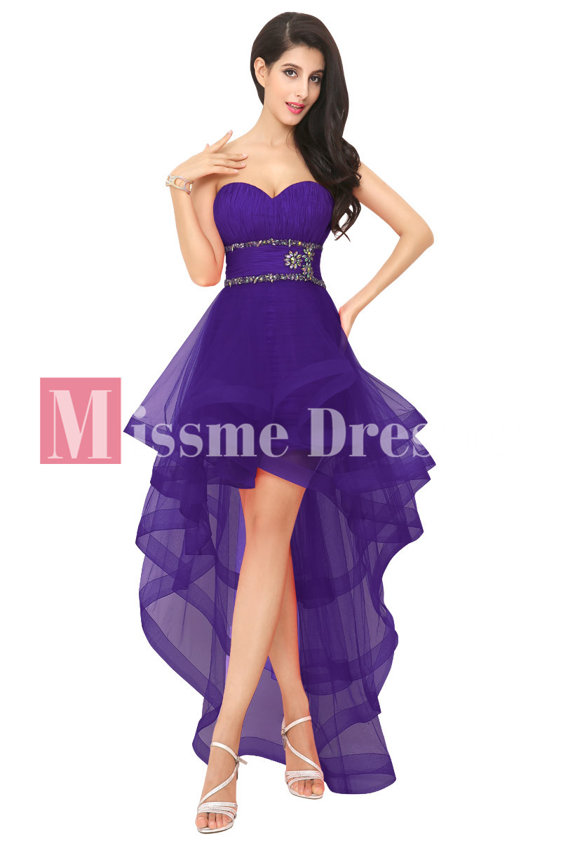 Prom purple dresses for calm girls advise to wear for spring in 2019