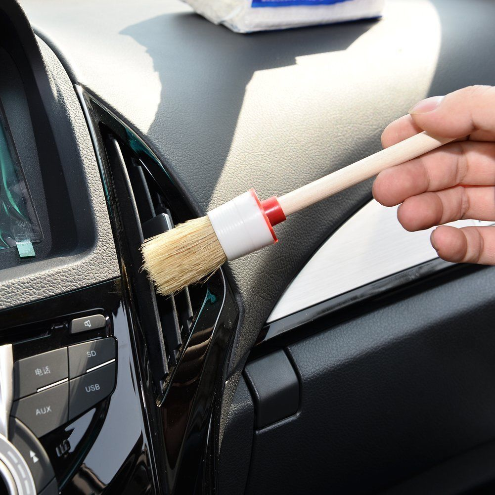 5pcs vehicles air vents dashboard cleaning brush detailing tool 2 4 6 8 12 ebay. Black Bedroom Furniture Sets. Home Design Ideas