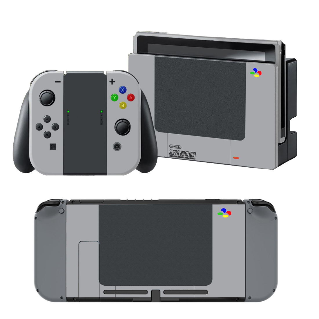 Details about New SUPER Nintendo vinyl decal for Nintendo switch console  sticker skin Stickers