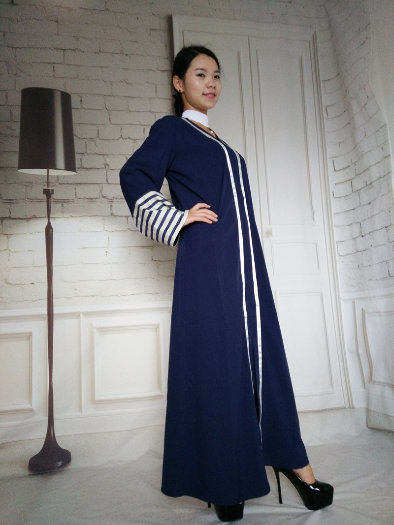 Muslim Dubai Style Abaya Kaftan Women Fashion Cardigan Open ...