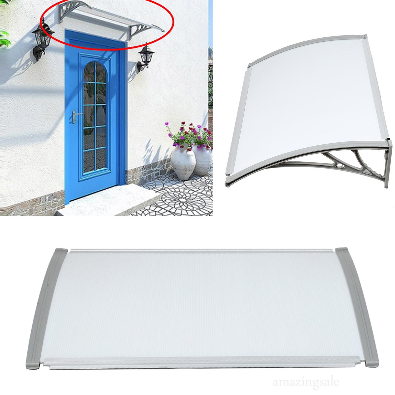 DIY Canopy Awning Outdoor Door Window Shade Sun Rain Snow ...