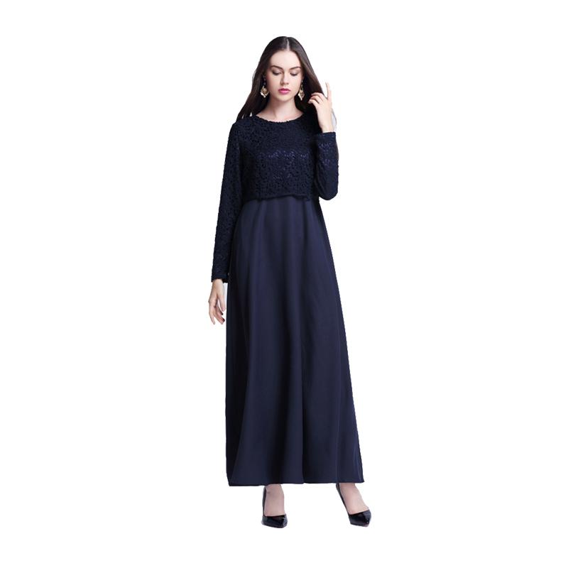 Vintage kaftan abaya islamic muslim cocktail women long sleeve maxi dress party ebay Retro style fashion for muslimah