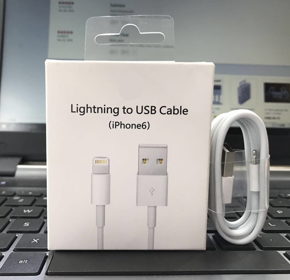 new oem lighting usb cable usb wall charger for iphone 6. Black Bedroom Furniture Sets. Home Design Ideas