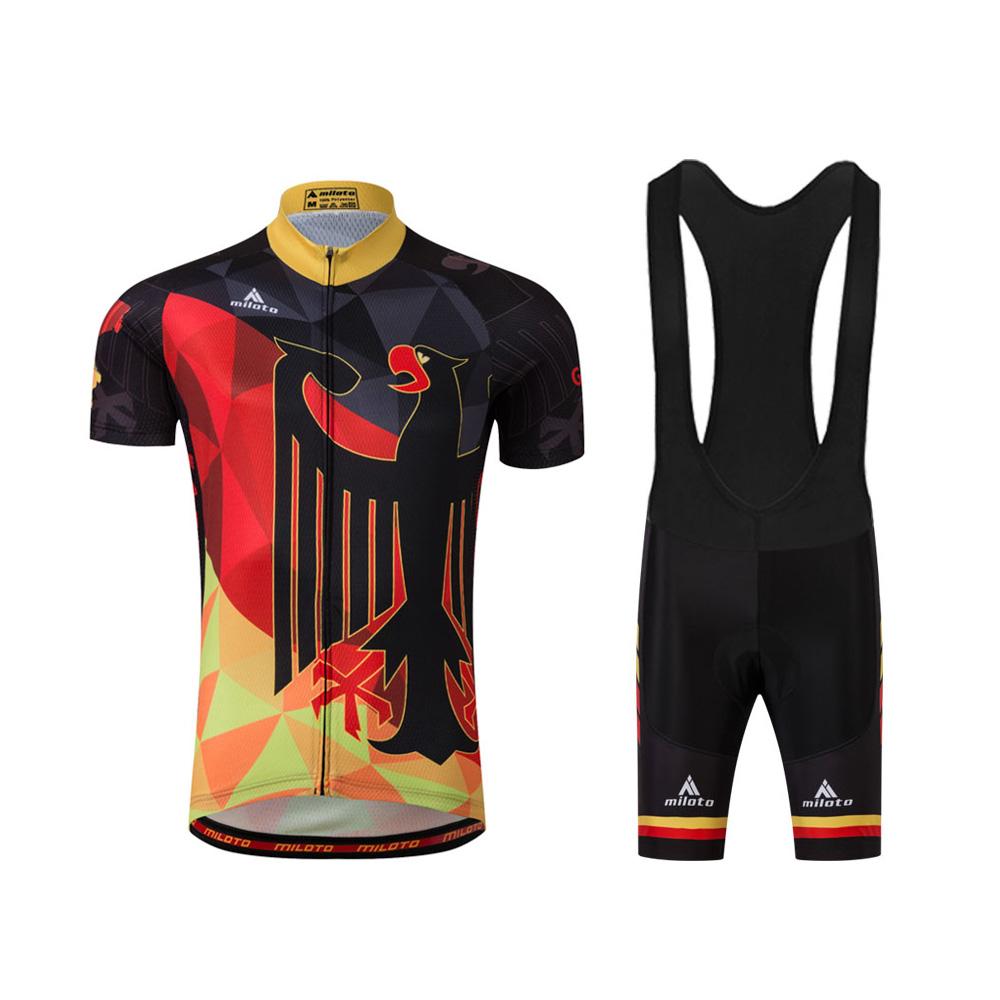 Vulture Men 39 S Cycling Jersey Bib Shorts Kit Road Bike Clothing Set S 5xl Ebay