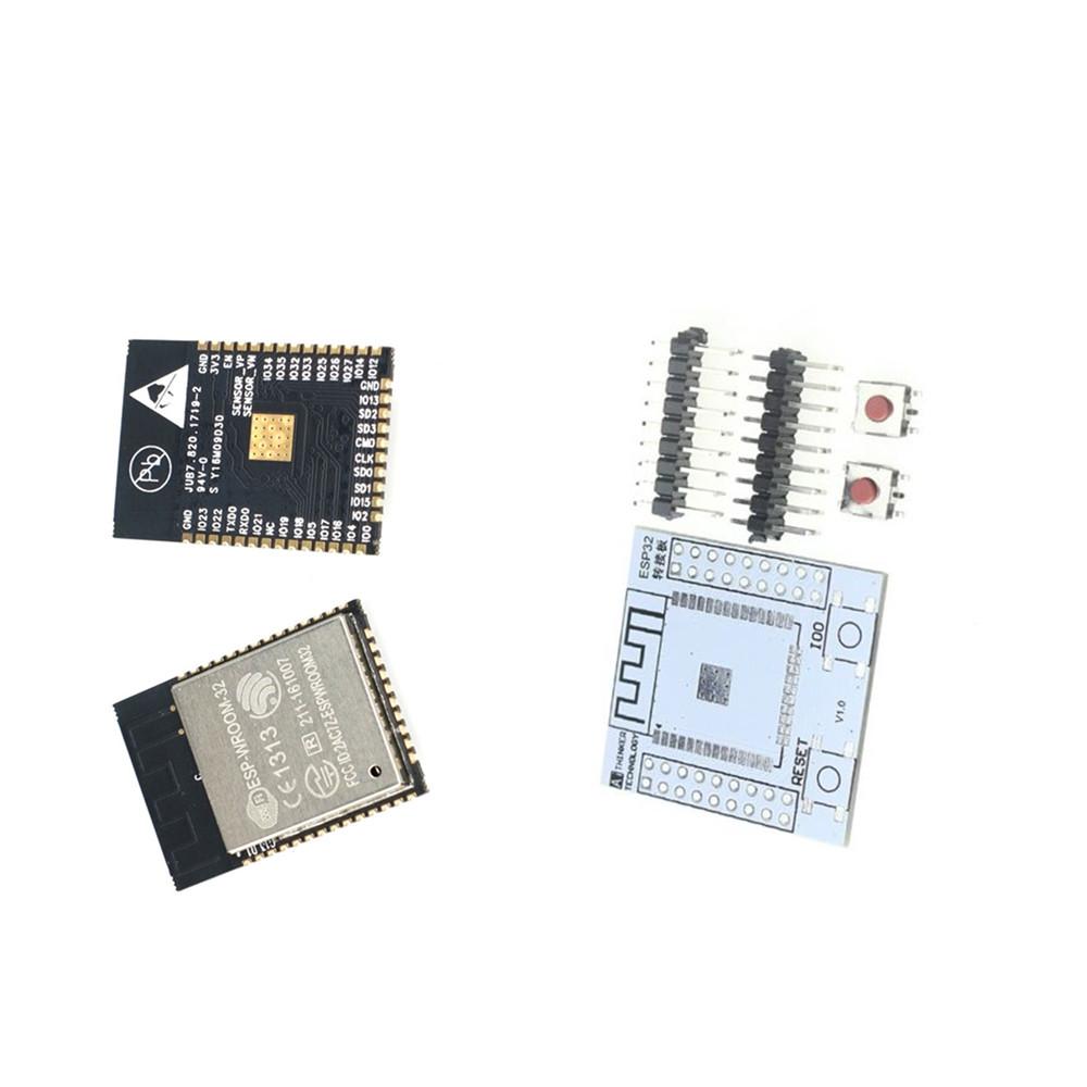 ESP-WROOM-32 ESP32 ESP32S IoT Wifi Wlan BLE Module+Adapter Board CP2102