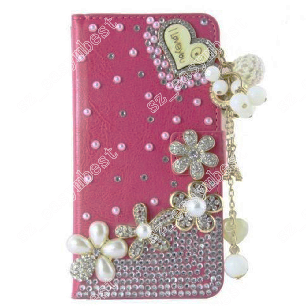 Iphone  Bling Wallet Case