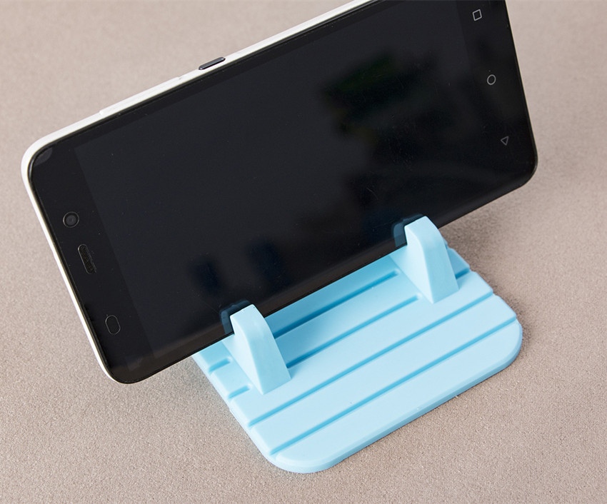 Universal rubber car dashboard non slip pad for phone gps stand mount holder ca ebay - Notepad holder for car ...