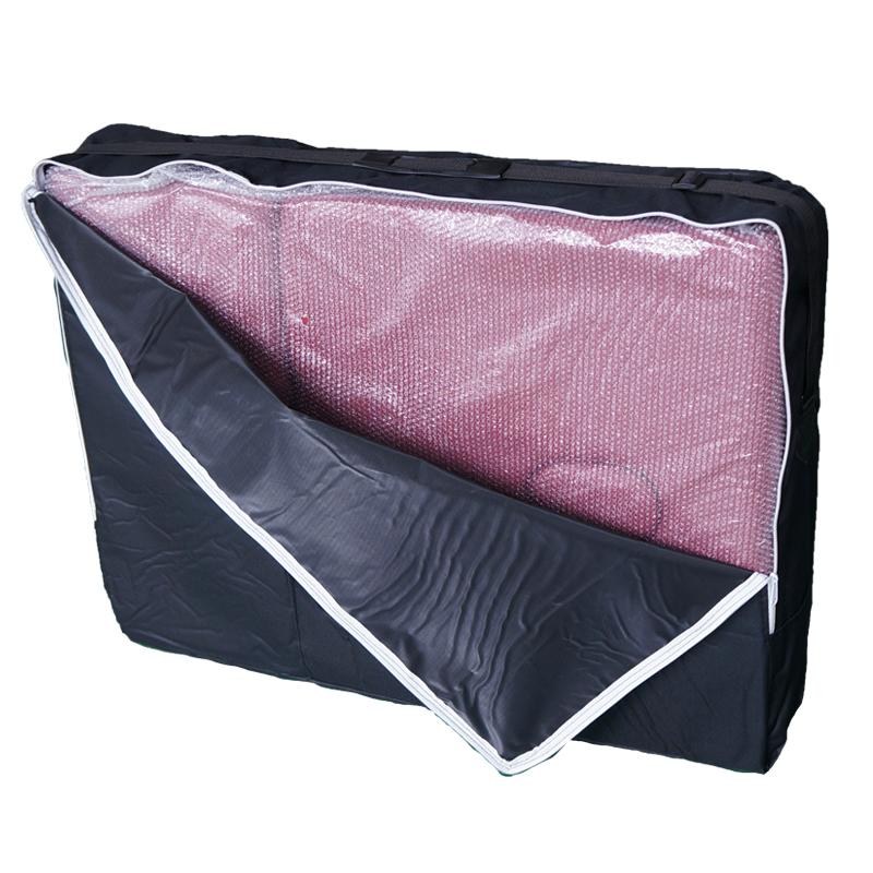 mobile massageliege massagestuhl massagebank 2 zonen klappbar holz mit tasche. Black Bedroom Furniture Sets. Home Design Ideas
