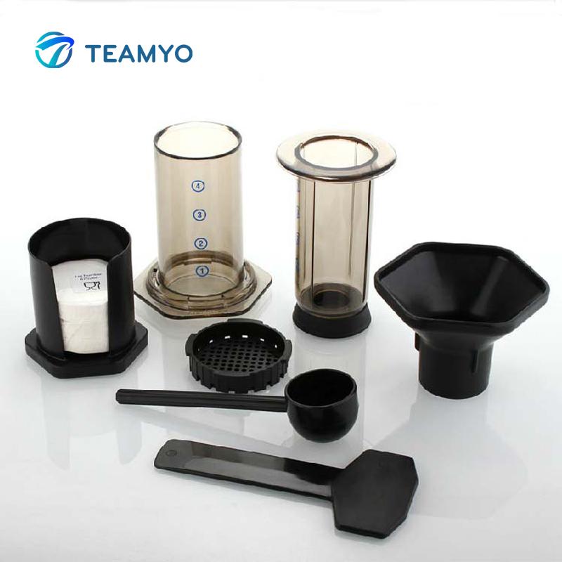 Portable Filter Coffee Maker Hao Le Ya Coffee Pot Machine + 350pcs Filter Paper eBay