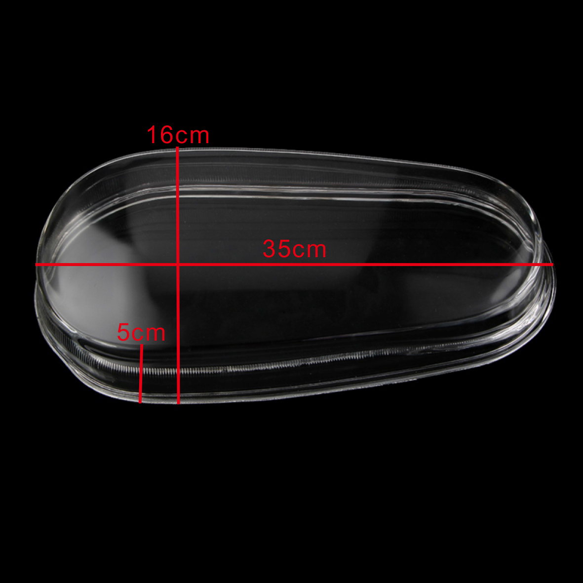 Glass Headlight Lenses Replacement Shell Cover For Vw Mk4