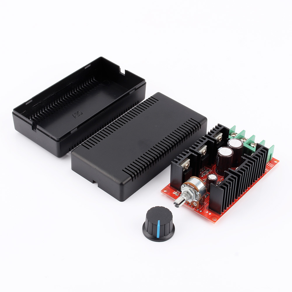 Dc motor speed control pwm hho rc controller 10v 50v 2000w for Speed control of dc motor