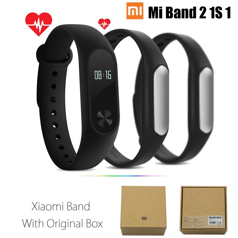 Original Xiaomi Mi Band 1s 2 Smart Watch Wristband Bracelet Heart Rate Monitor Ebay