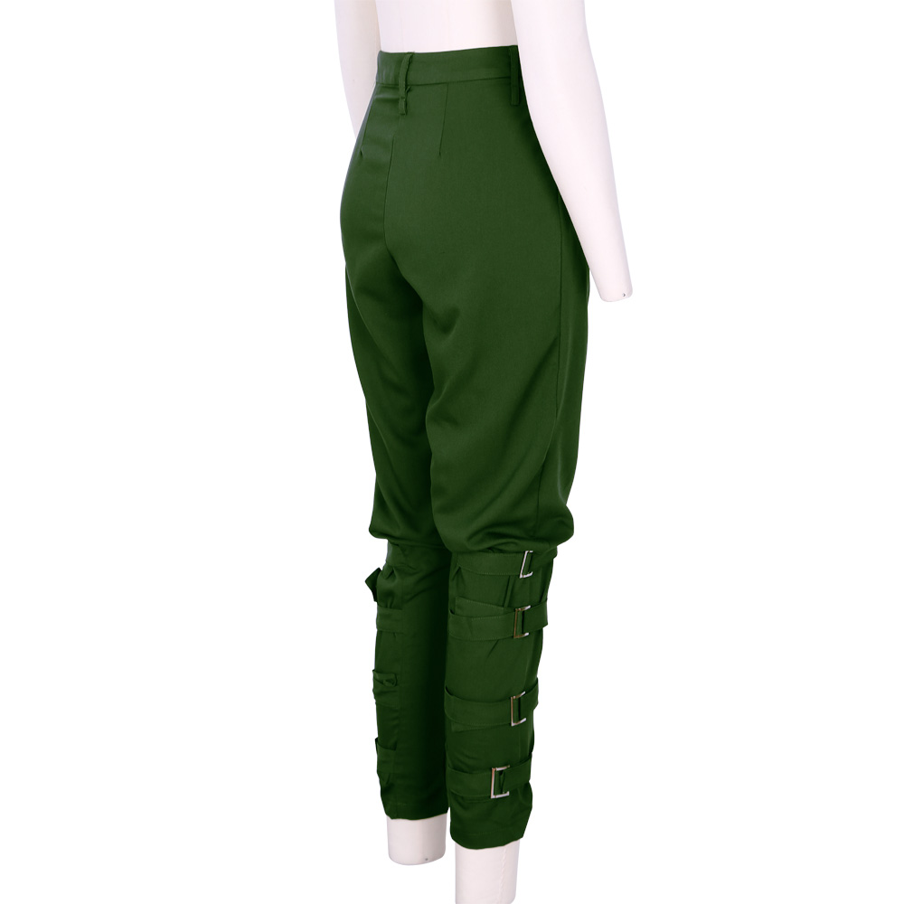 Model  Army Green Casual Women Joggers Pantalon Femmes Cargo Pants Women