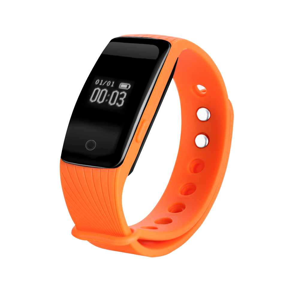 Fitness Bands Compatible With Iphone: Bluetooth Health Wristband Sports Fitness Tracker Sleep