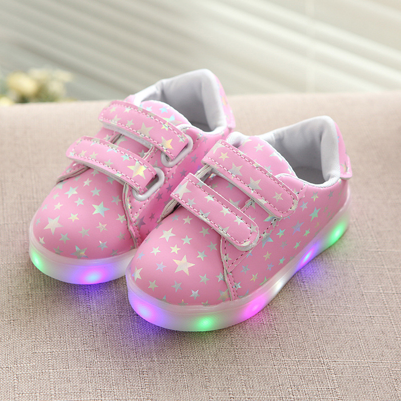 saguaro kinder led licht schuhe farbwechsel blinkschuhe leuchtende sneaker ebay. Black Bedroom Furniture Sets. Home Design Ideas