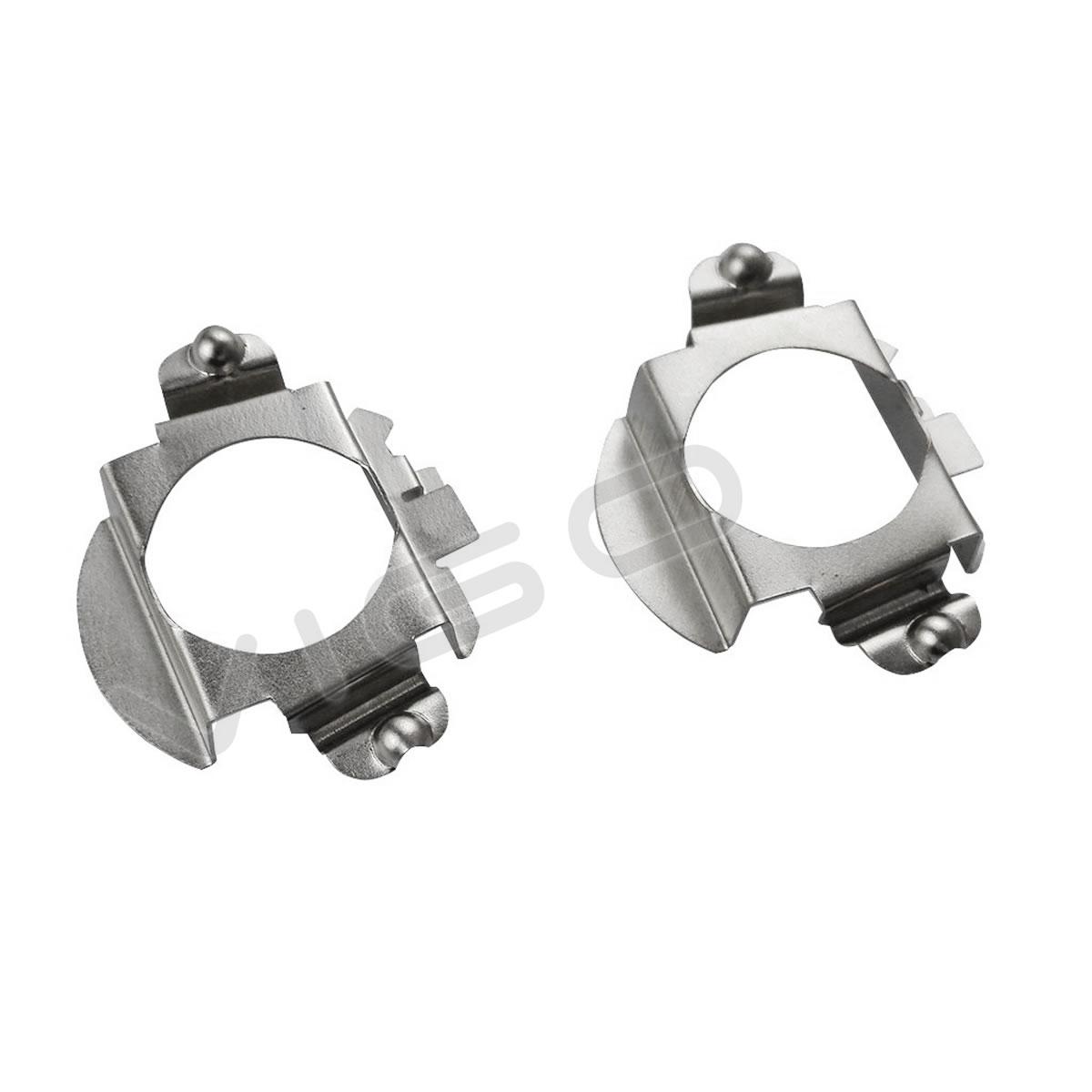 H7 Headlight Bulb Socket : H led headlight bulbs holder adapters retainer for