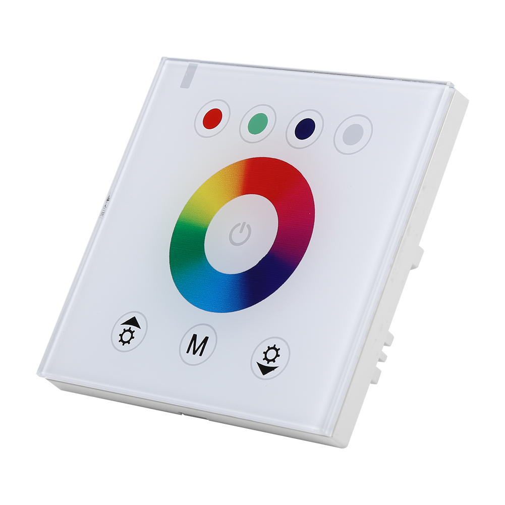Led Strip Light Wall Dimmer: Sensitive Touch Panel LED Light Dimmer Controller Wall